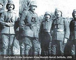 Anafartalar Grubu Komutanı Albay Mustafa Kemal, Gelibolu 1915