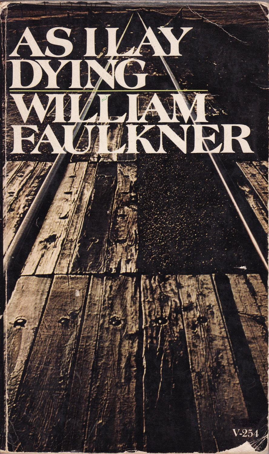 a review of william faulkners as i lay dying On the surface, william faulkner's as i lay dying appears as a solemn reflection on death and yet, through the use of dramatic irony, the novel also takes on the form of a dark twisted comedy.