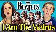 Gençler müziksiz olarak Beatles'in 'I am the Walrus' şarkısını değerlendiriyorlar.