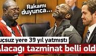 Suçsuz Yere 39 Yıl Hapiste Yatan Adama 1 Milyon Dolar Tazminat