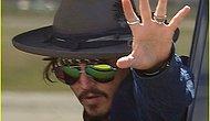 Johnny Depp Go Kartta Elini Kırdı.