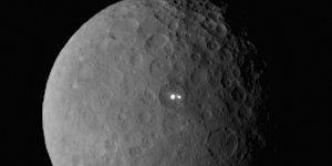 Bilim İnsanlarını Hayrete Düşüren Cüce Gezegen Ceres'te Ortaya Çıkan İlginç Işıklar