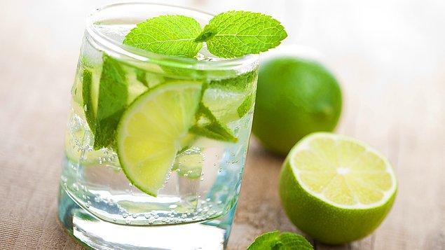 8. Midenizde yanma veya bulanma varsa limonlu bir soda çok işinize yarar.