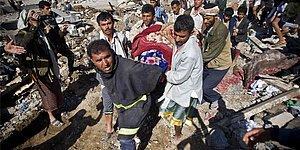 27 Fotoğraf ile Bombardıman Sonrası Yemen