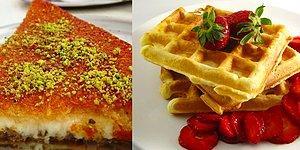 Hatay'ın Künefesi mi Ortaköy'ün Waffle'ı mı?