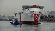 Yerli Sismik Araştırma Gemisi 'TURKUAZ' Denize İndirildi