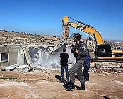 İsrail Filistin'de 350 Nüfuslu Köyü Yıkacak