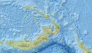 Papua Yeni Gine'de Deprem ve Tsunami Uyarısı
