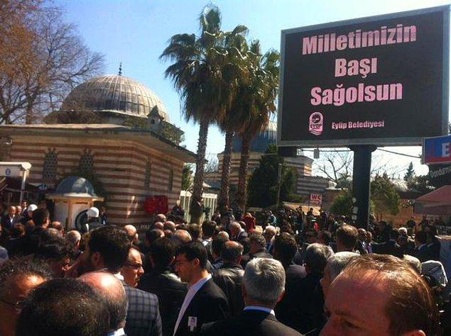 Eyüp Sultan'da cenaze