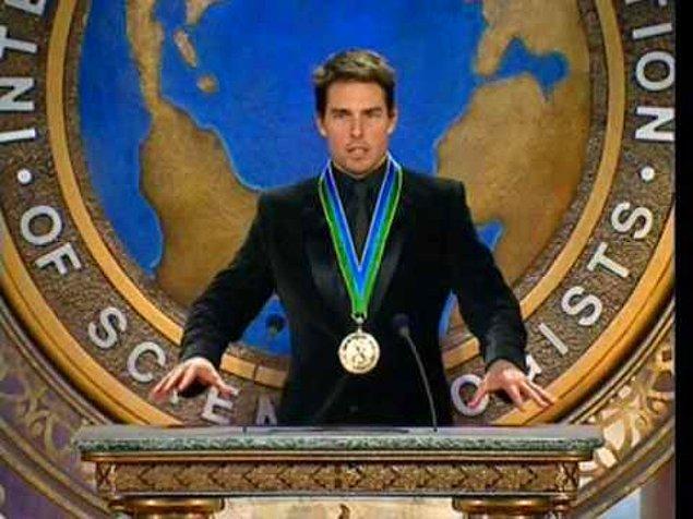 20. Scientology ile bütünleşmiş bir isim: Tom Cruise