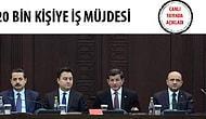 Başbakan Davutoğlu İstihdam Paketi'ni Açıkladı