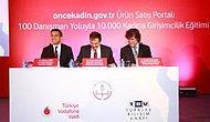 """Vodafone """"Önce Kadın"""" Projesi 10 Şehirde 10.000 Kadına Gelir Sağlayacak"""