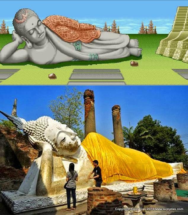 8. Street Fighter II ve Tayland'daki Ayutthaya