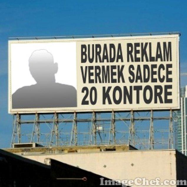 6. Reklam Panosu / Billboard