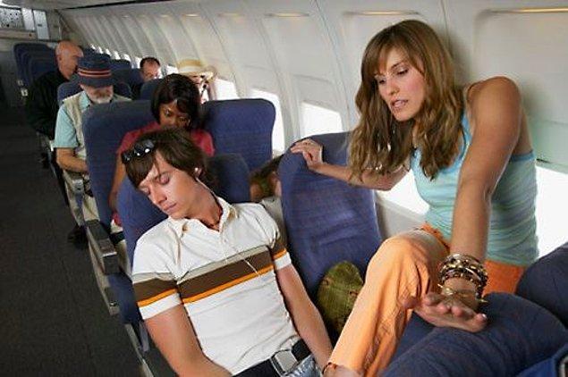10. Seyahat ederken koridor tarafındaki koltuğa en son ne zaman oturduğunuzu hatırlamazsınız.