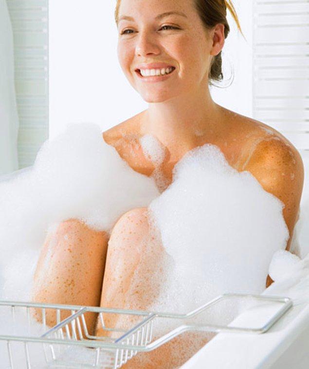 Benzoil Peroksitli duş jeli kullanın