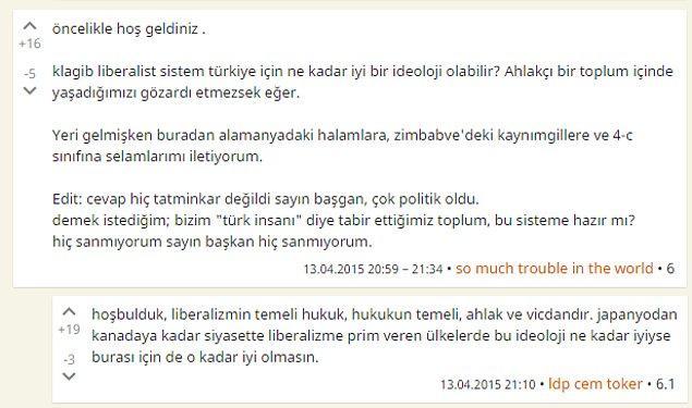 18. Liberal sistem Türkiye için ne kadar ideal olabilir?