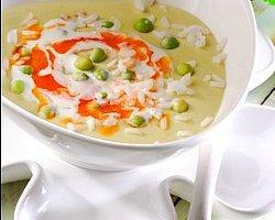 Kremalı Bezelye Çorbası