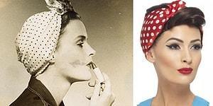 Bugün Moda Olan Birçok Şeyin Aslında 1940'ları Taklit Ettiğinin 20 Örneği