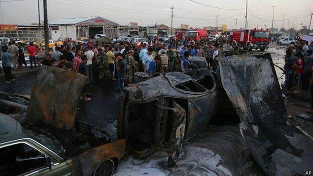 Bağdat'taki saldırılarda en az 40 kişi hayatını kaybetti