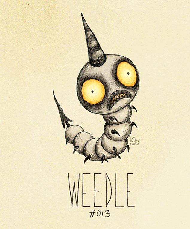 13. Weedle