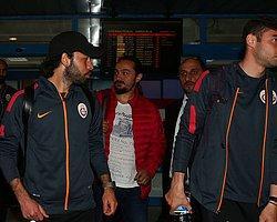 Galatasaray Trabzon'a Ulaştı