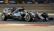 Hamilton, Bahreyn'de Üst Üste Dördüncü Pole Pozisyonunu Aldı