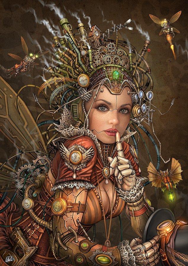 Steampunk Fairy - Sessizlik Perisi