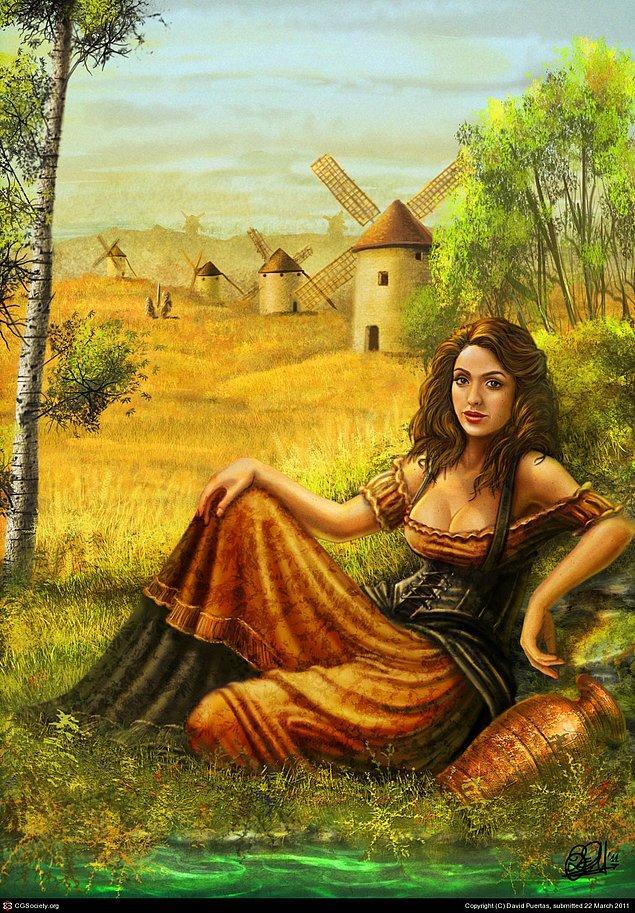 Dulcinea del Toboso (The Quixote) - Toboso'lu Dulcinea