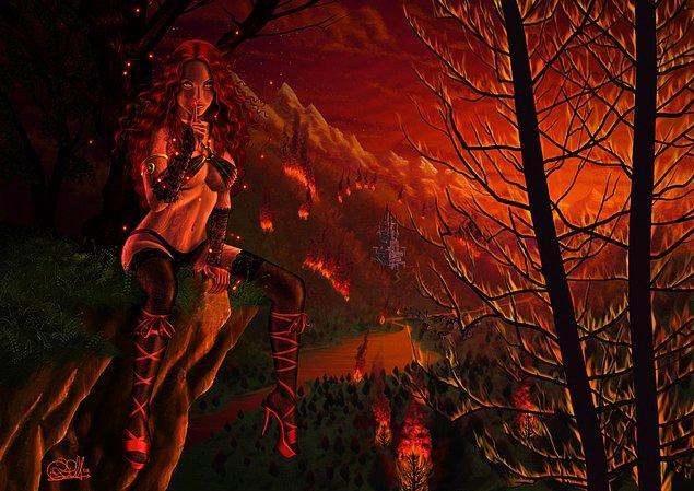 Fire Nymph - Yangın Perisi