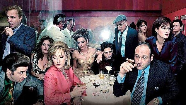 2. The Sopranos   (1999–2007)   IMDB / 9,3