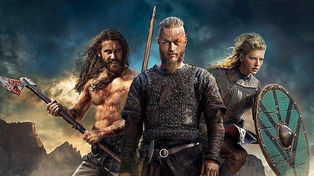 32. Vikings   (2013– )   IMDB / 8,6