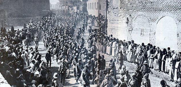 2. 1915'teki mevcut durum: Tehcirin sebepleri
