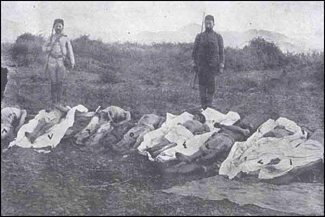 5. 1915'in diğer bir yüzü: Ermeniler tarafından öldürülen yüz binlerce Türk