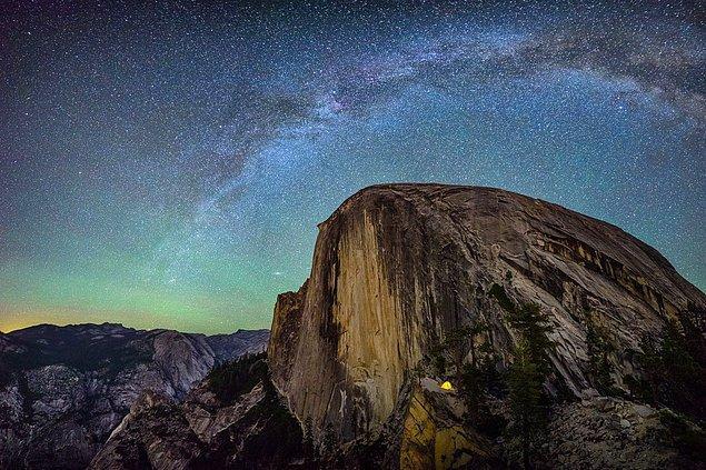 9. Atlama Rampasında Kamp Kurmak (Yosemite Ulusal Parkı, ABD)