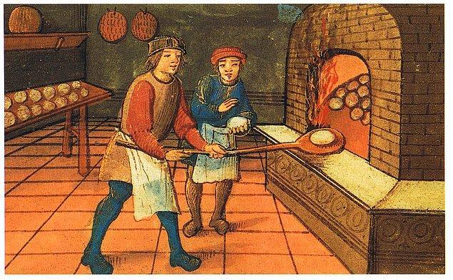 6. Ortaçağ'da tüccarlar bir çeşit kredi kartı kullanmaktaydı
