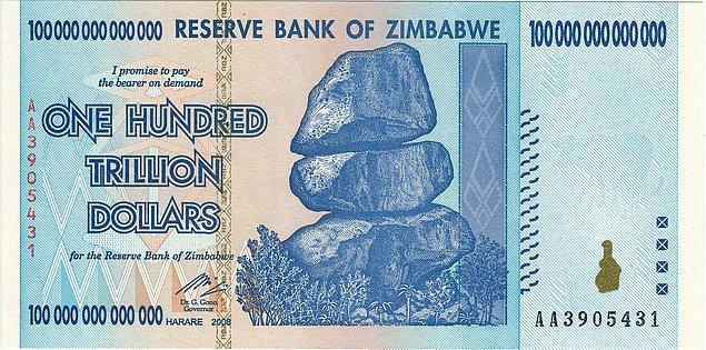 5. Yüz Trilyon Dolarlık Para