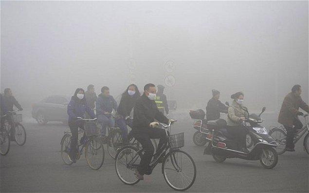 8. Dünyada hava kirliliğinin en yüksek olduğu ülke Çin'dir.