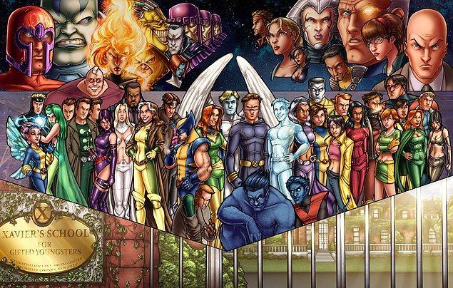 8. X-Men - X-Mansion