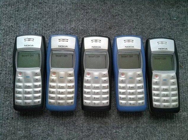 28. Nokia 1100