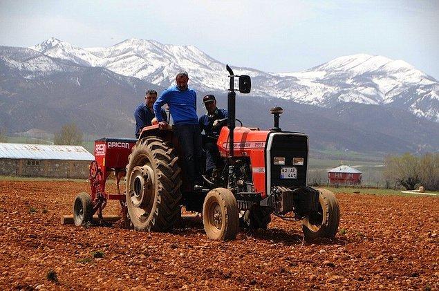 Tarım devrimi gerçekleştirdik