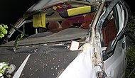 Konya'da tarım işçilerini taşıyan minibüs devrildi: 3 ölü, 12 yaralı
