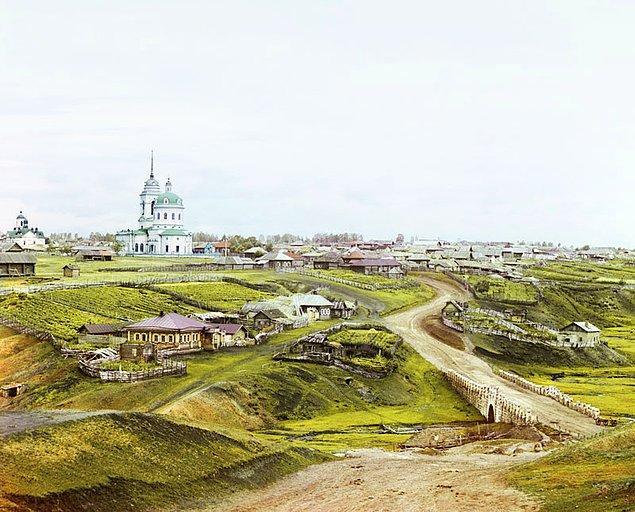 19. Kolchedan Köyü, Ural Dağları (1912)