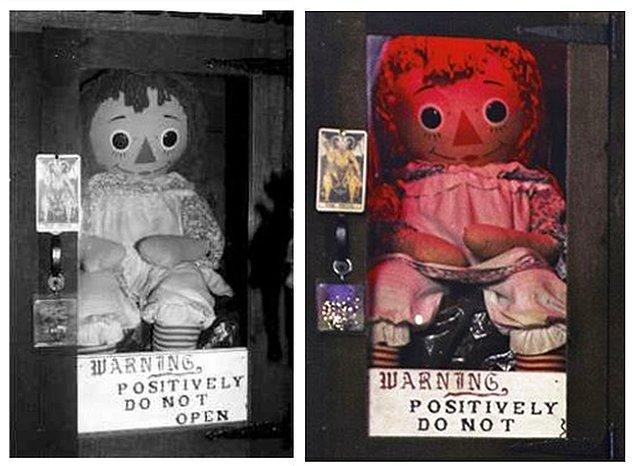 1. Chucky'nin Öz Gelini 'Annabelle'nin bebeği'