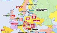 6 Farklı Bakış Açısıyla Avrupa Kıtası