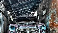 Bir Fotoğrafçının Polonya'da Keşfettiği Eski Araba Mezarlığından Kareler