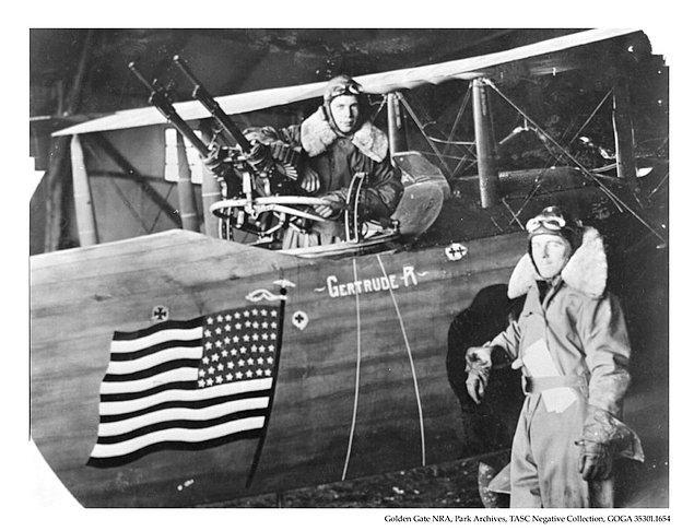 9. Birinci Dünya Savaşı'nın başlangıcında Amerikan ordusunda sadece 18 pilot vardı.