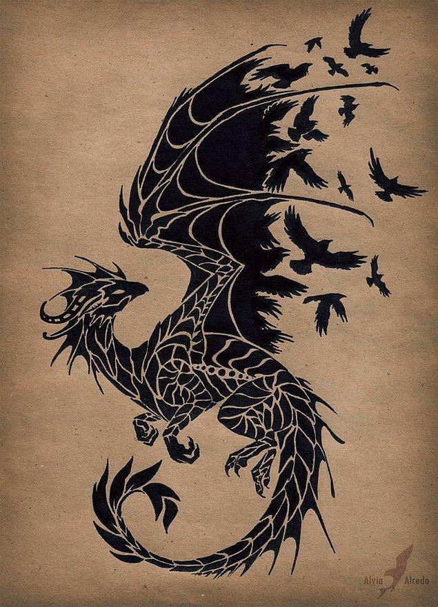 1. Ne güzel ejderhasın sen kuş koysunlar yoluna.