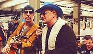 U2, New York Metrosunda Şarkı Söyledi