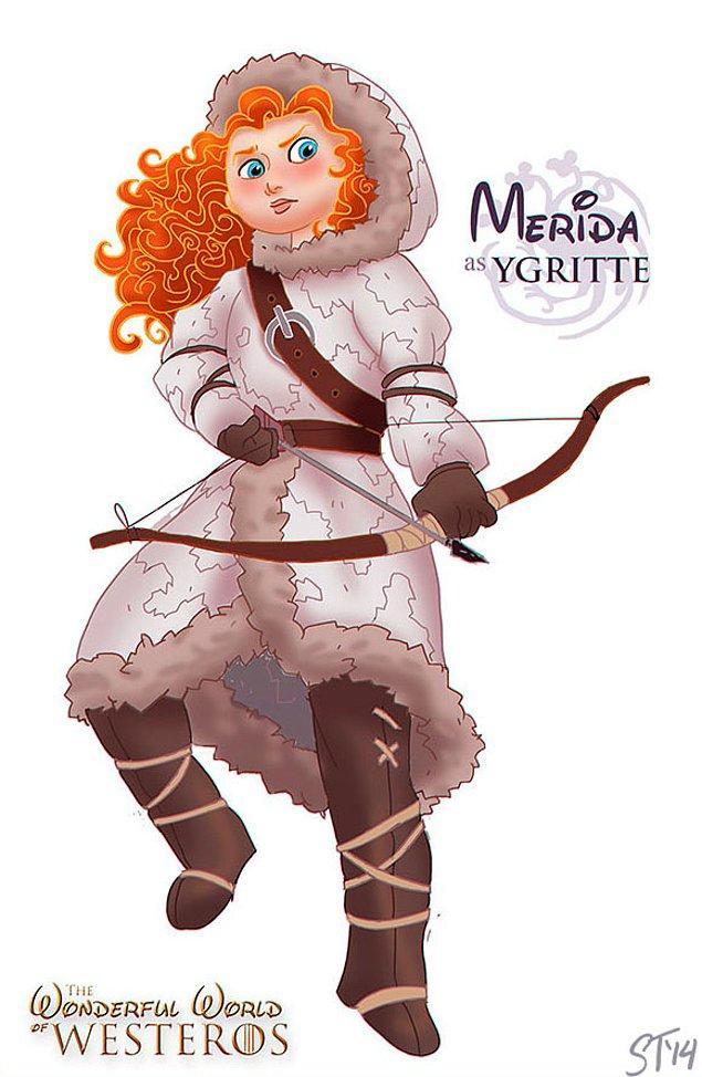 16. Merida - Ygritte